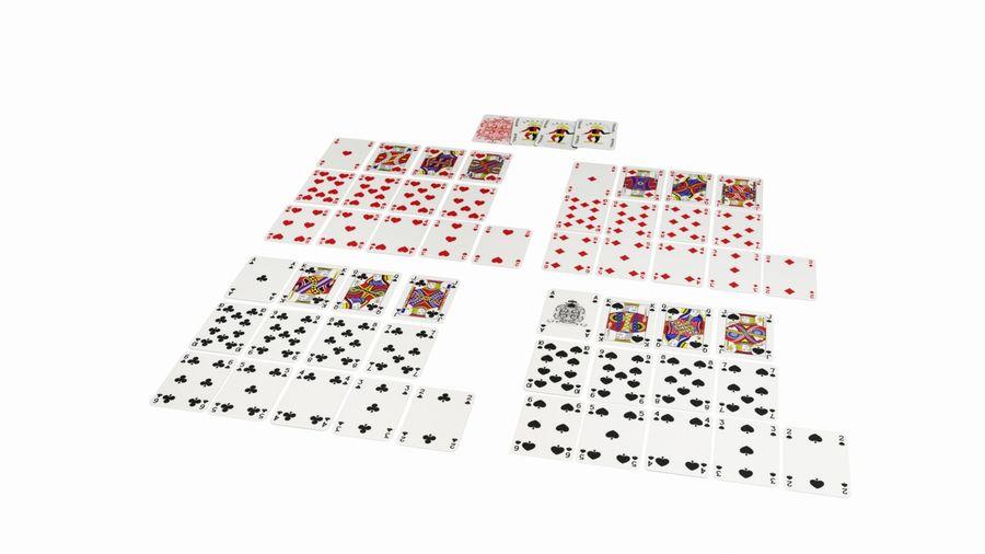 Giocando a carte royalty-free 3d model - Preview no. 6