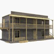 Western House 7 3d model