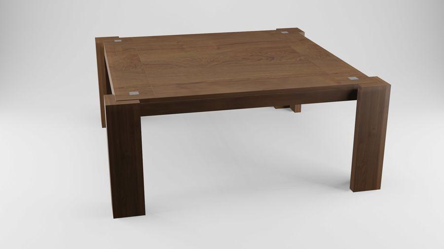 식사 테이블 royalty-free 3d model - Preview no. 4