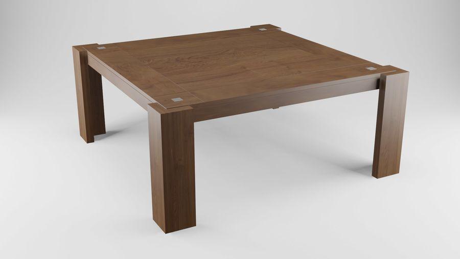 식사 테이블 royalty-free 3d model - Preview no. 12
