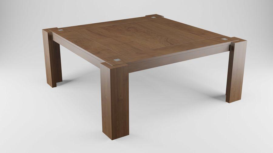 식사 테이블 royalty-free 3d model - Preview no. 9
