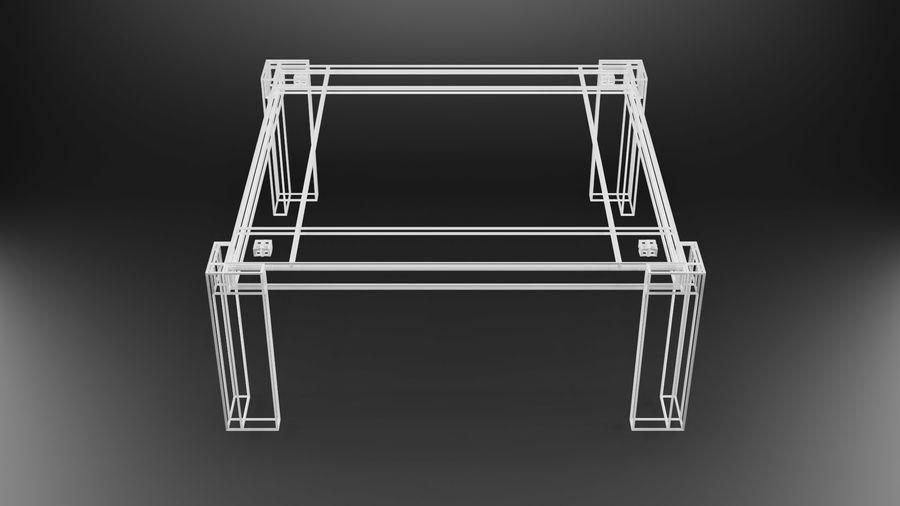 식사 테이블 royalty-free 3d model - Preview no. 30