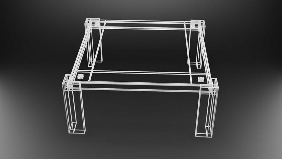 식사 테이블 royalty-free 3d model - Preview no. 39