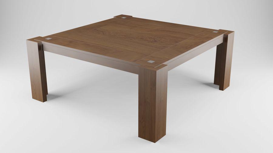 식사 테이블 royalty-free 3d model - Preview no. 17
