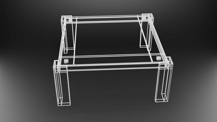 식사 테이블 royalty-free 3d model - Preview no. 22