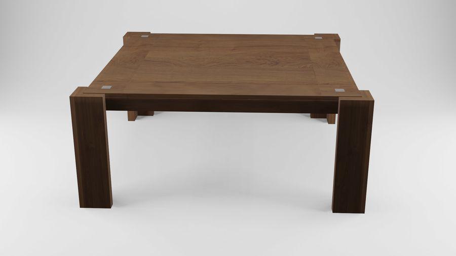식사 테이블 royalty-free 3d model - Preview no. 20