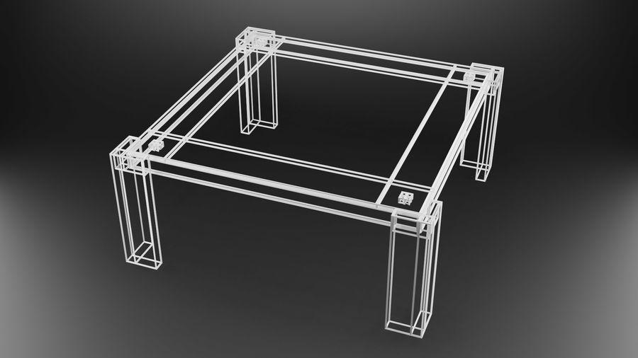 식사 테이블 royalty-free 3d model - Preview no. 37