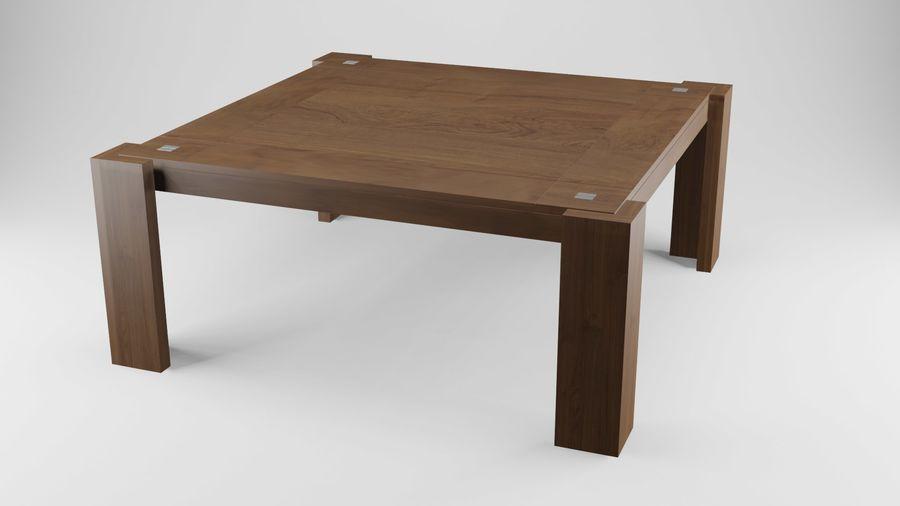 식사 테이블 royalty-free 3d model - Preview no. 18