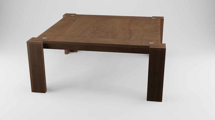 식사 테이블 royalty-free 3d model - Preview no. 14
