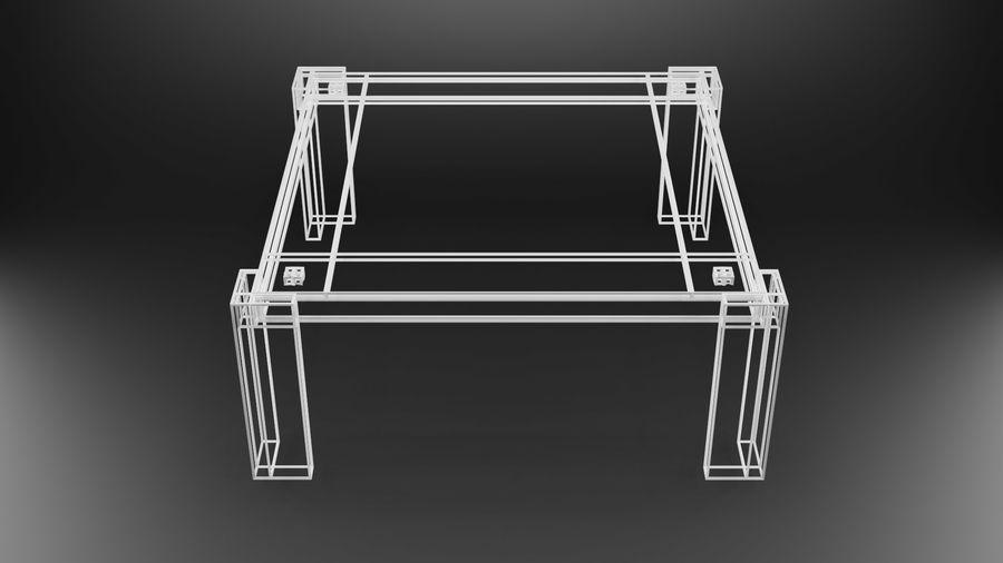 식사 테이블 royalty-free 3d model - Preview no. 21