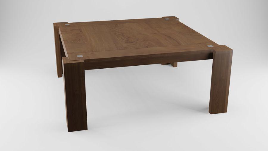 식사 테이블 royalty-free 3d model - Preview no. 15
