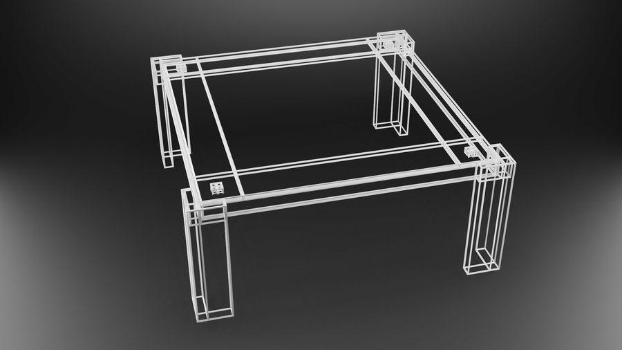 식사 테이블 royalty-free 3d model - Preview no. 34