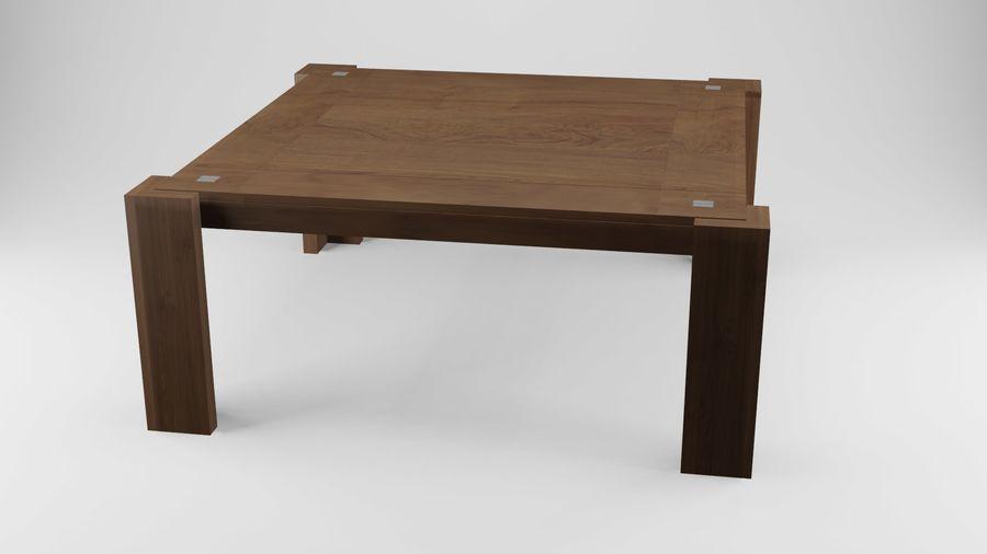 식사 테이블 royalty-free 3d model - Preview no. 19