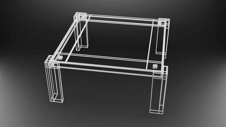 식사 테이블 royalty-free 3d model - Preview no. 38