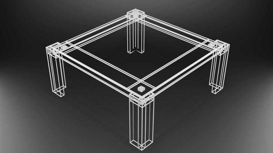 식사 테이블 royalty-free 3d model - Preview no. 25