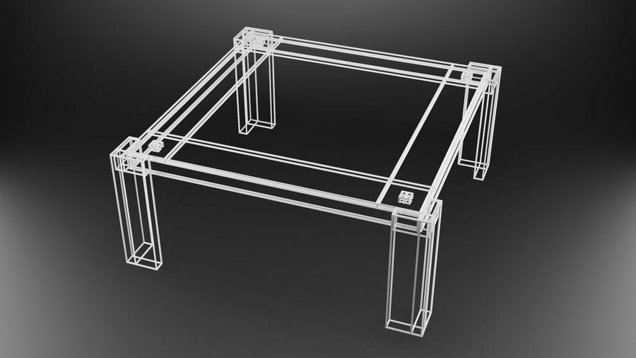 식사 테이블 royalty-free 3d model - Preview no. 26