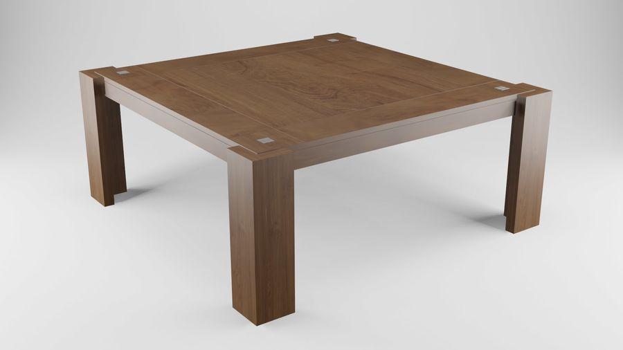 식사 테이블 royalty-free 3d model - Preview no. 16