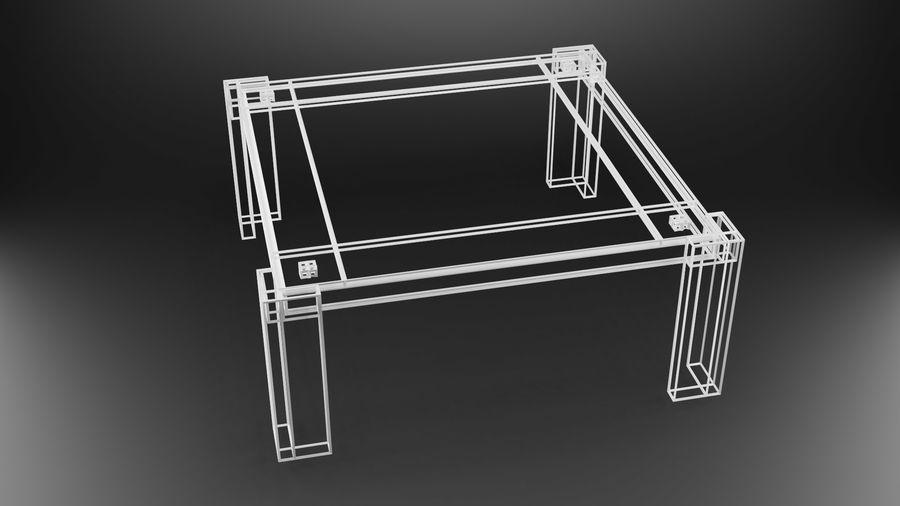 식사 테이블 royalty-free 3d model - Preview no. 23