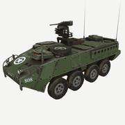 Véhicule de transport d'infanterie StrykerM1126 3d model