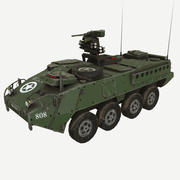 StrykerM1126 Infantry Carrier Vehicle 3d model