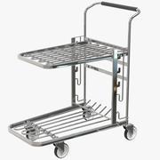 Push Cart Trolley 3d model