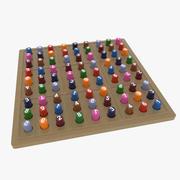 Sudoku Puzzle Board Game 3d model