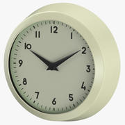 Retro Wall Clock 3d model