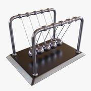 Newton beşiği 3d model