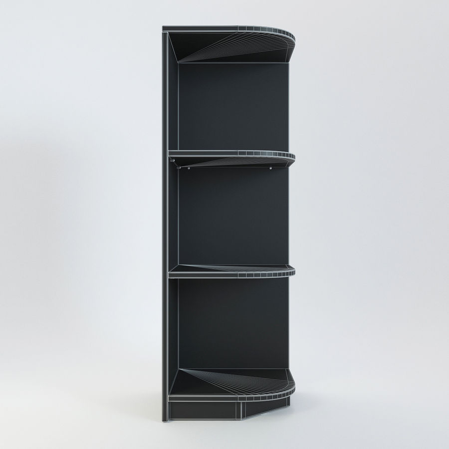 Houten kast 11 royalty-free 3d model - Preview no. 7
