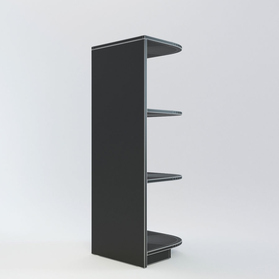 Houten kast 11 royalty-free 3d model - Preview no. 8