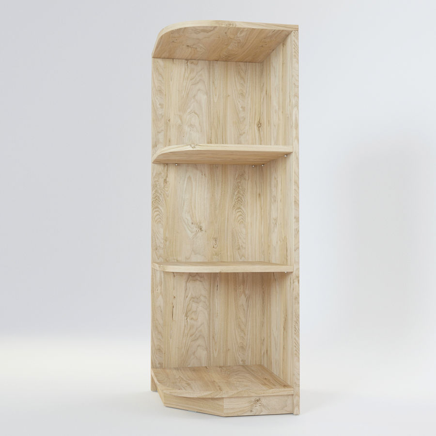 Houten kast 11 royalty-free 3d model - Preview no. 3
