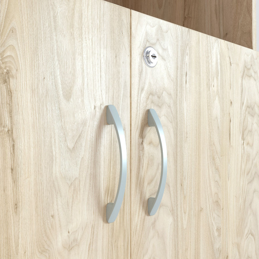 Houten kast 13 royalty-free 3d model - Preview no. 5