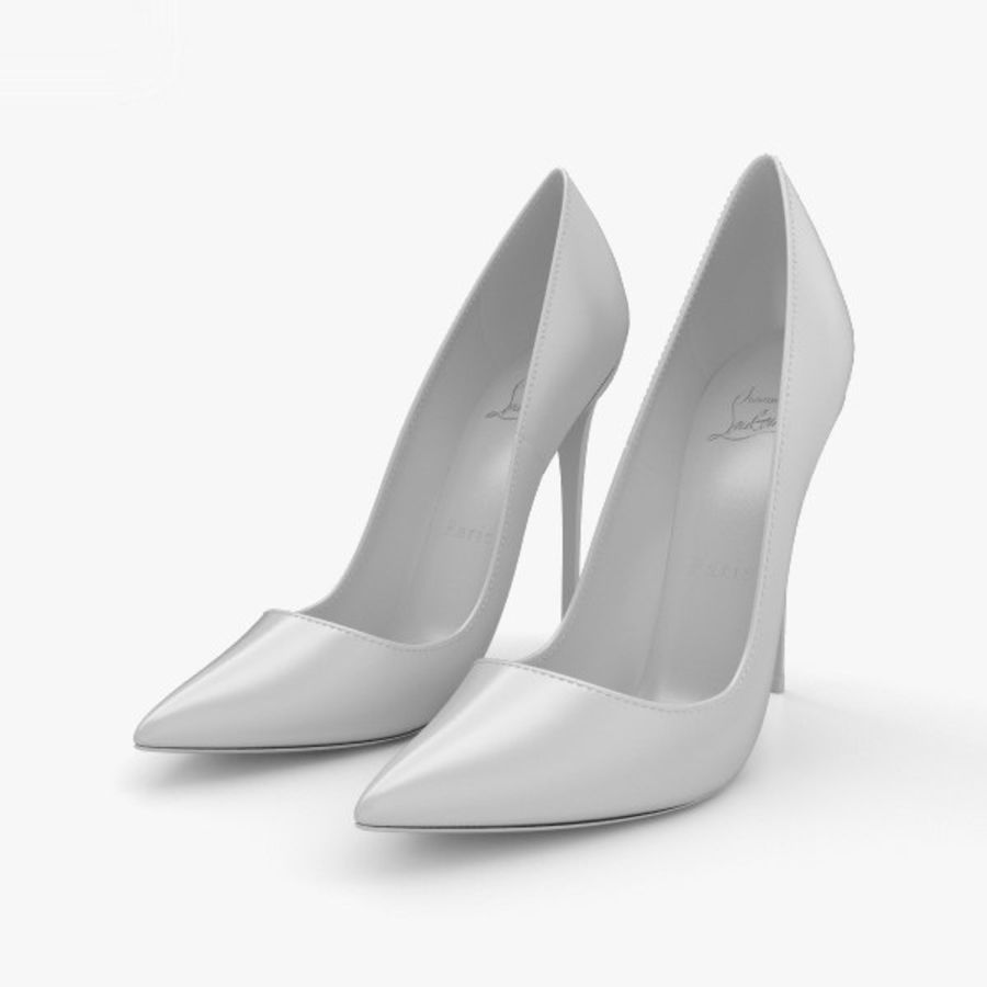 High Heels Shoes royalty-free 3d model - Preview no. 11