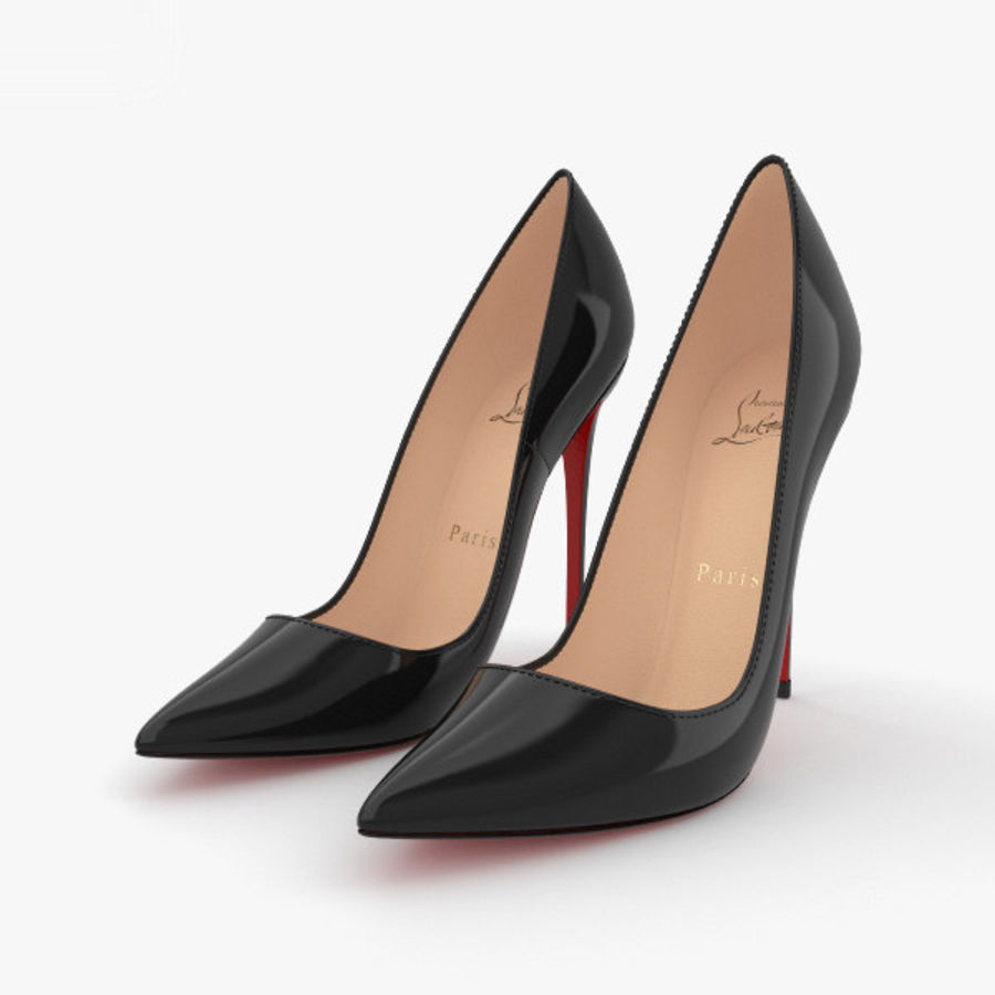 High Heels Shoes royalty-free 3d model - Preview no. 1