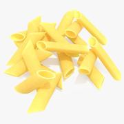Penne Pasta 3d model