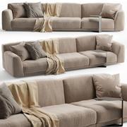 Sofa Paris Seoul 3d model