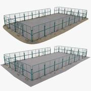 Cour de récréation 3d model