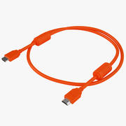 HDMI Cable High Speed 02 3d model