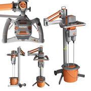 Drill mixer 3d model