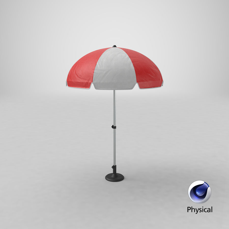 Paraply royalty-free 3d model - Preview no. 13