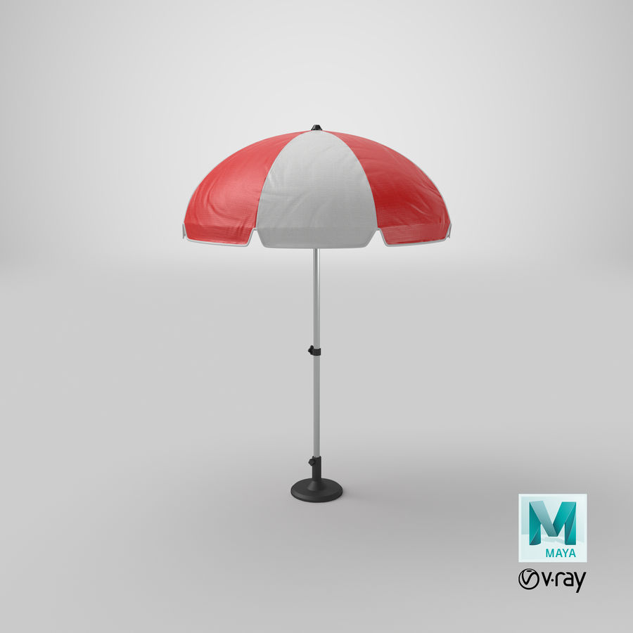 Paraply royalty-free 3d model - Preview no. 20