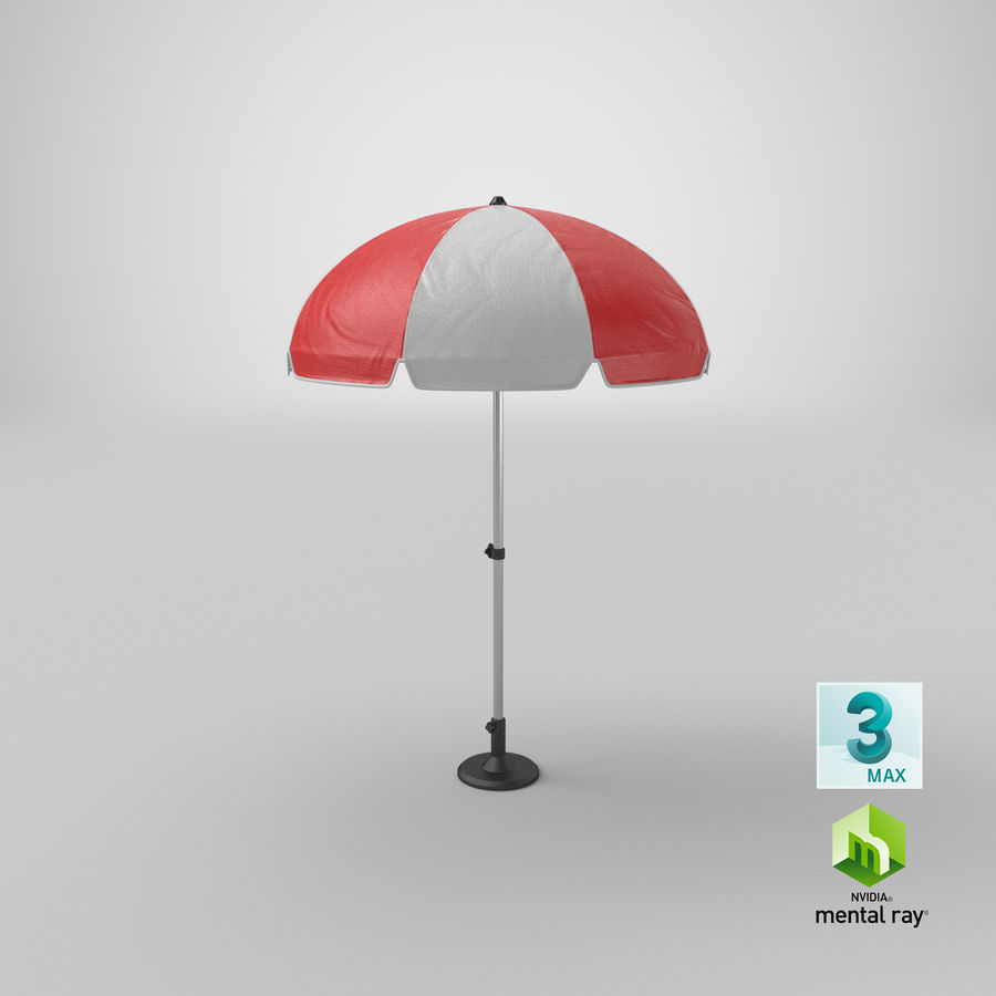 Paraply royalty-free 3d model - Preview no. 16
