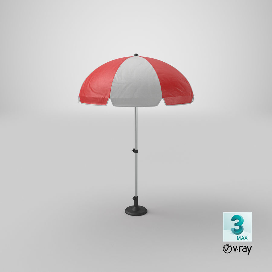 Paraply royalty-free 3d model - Preview no. 17