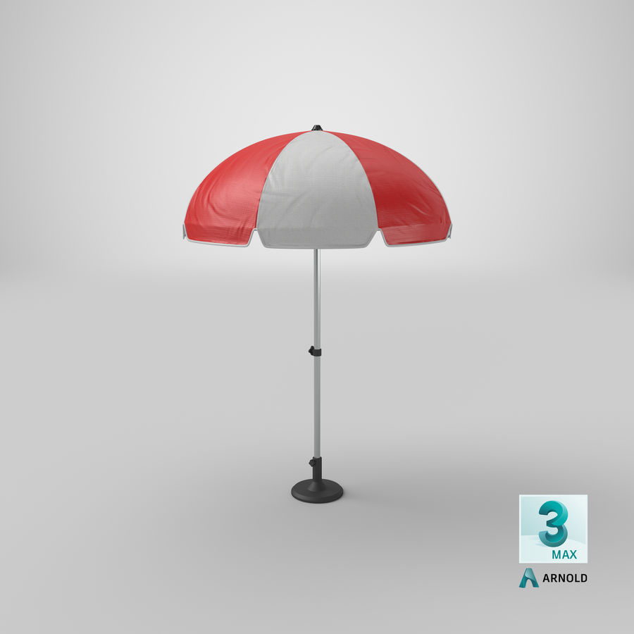 Paraply royalty-free 3d model - Preview no. 15