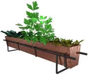 copper herb planter 3d model