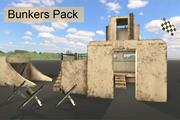 Pakiet bunkrów magazynowych 3d model