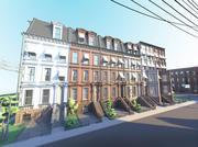 Dzielnica Nowego Jorku 3d model