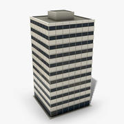 Office Tower Game Ready 3d model