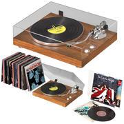 Gramophone de musique 3d model