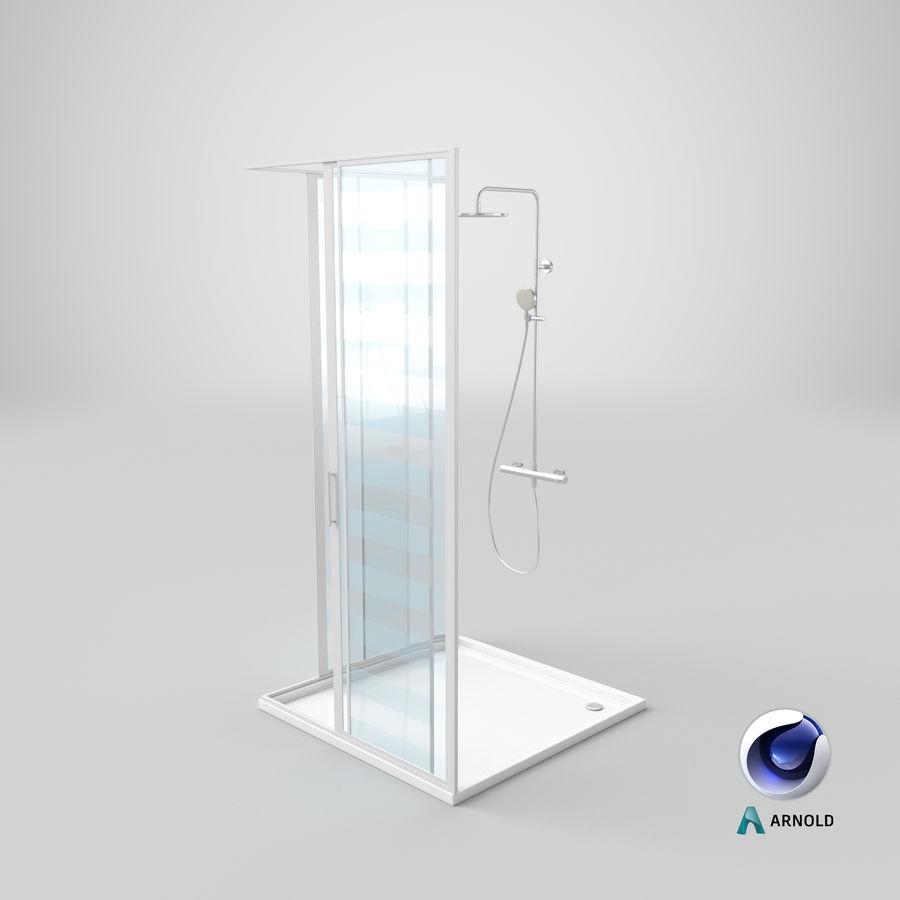 Duş Kabini 3D Model royalty-free 3d model - Preview no. 19